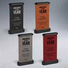Leatherette Obelisk Award