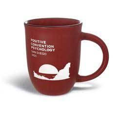 14 oz. Matte Red Mug