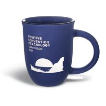 14 oz. Matte Blue Mug