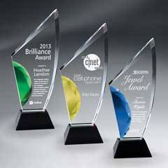 Vibrant Gemstone Award w/ Gemstone (lrg)