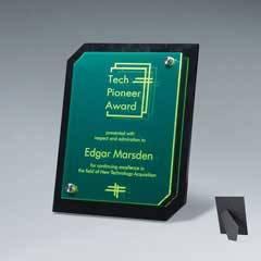 Translucent Green Riser Plaque