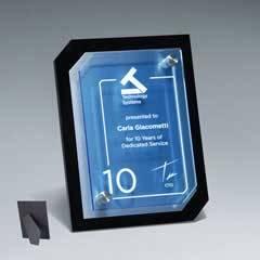 Clipped Corner Riser Plaque w/ Digi-Color