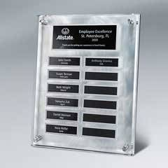 Master Plaque w/ 12 Plate Release Program