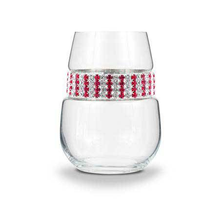 BWSRB - Stemless Wine Glass Ruby Bracelet