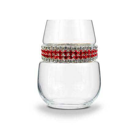 BWSRC - Stemless Wine Glass Red Carpet Bracelet