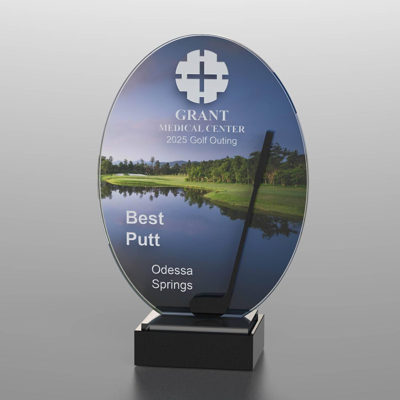 CD1053AD - Golf Course Silhouette Award
