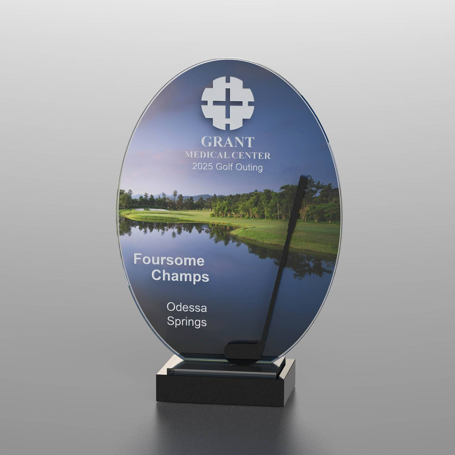 CD1053BD - Golf Course Silhouette Award