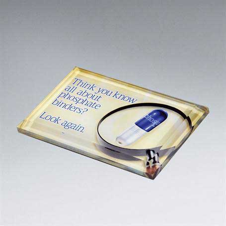 CD225A - Beveled Paperweight