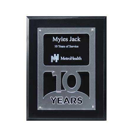 CD902Y10 - Anniversary Achievement Plaque