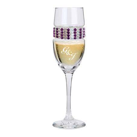 CFAT - Champagne Flute Amethyst Bracelet