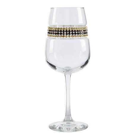 BFWGC - Blank Footed Wine Glass Gold Coast Bracelet