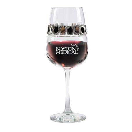 FWPD - Footed Wine Glass Painted Desert Bracelet