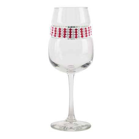 BFWRB - Blank Footed Wine Glass Ruby Bracelet