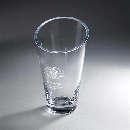 G0500A - Slant Top Vase - Small