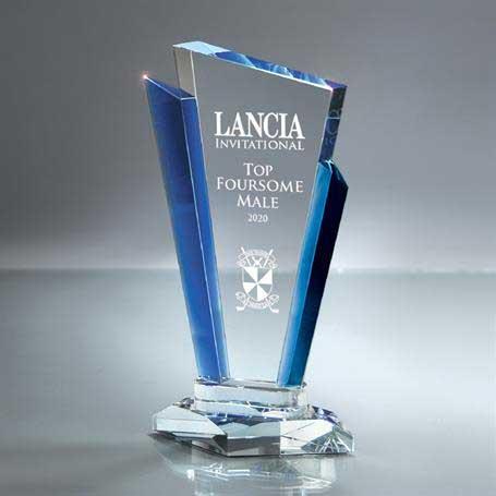 GI561B - Optic Crystal Palace Award - Large
