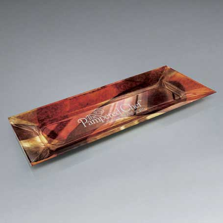 GI579 - Art Glass Lasered Tray