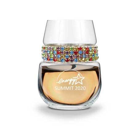 WSCF - Stemless Wine Glass Confetti Bracelet