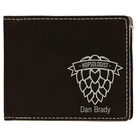 CM292BS - Leatherette Slim-Line Wallet