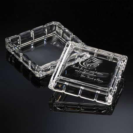 G0721 - Oxford Glass Trinket Box