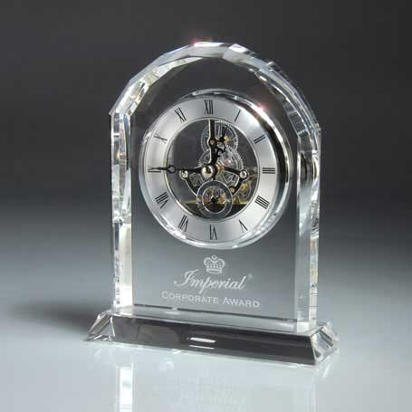 GM478 - Optic Crystal Desk Clock