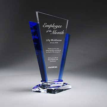 GM713C - Optic Crystal Palace Award - Large