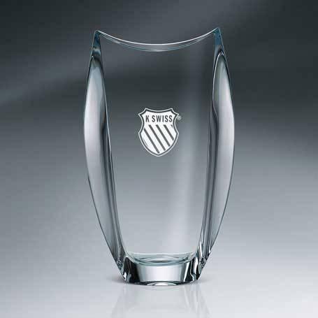 GNS118 - Orbit Vase Crystal