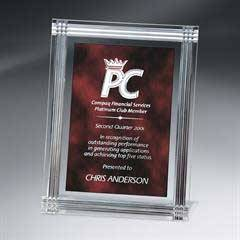 Diamond Carved Rectangle Plaque