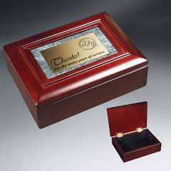 Rosewood Piano Finish and Marble Gift Box