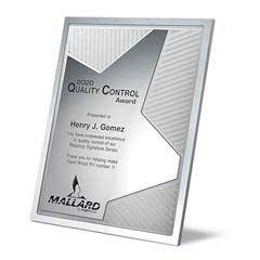 Grooved Brilliance Plaque