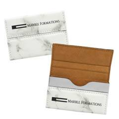 Leatherette Hard Business Card Case