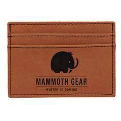 Leatherette Money Clip/Card Holder