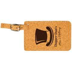 Cork Luggage Tag
