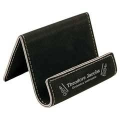Leatherette Phone Easel