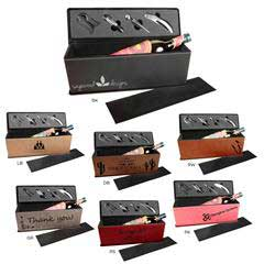 Leatherette Wine Box
