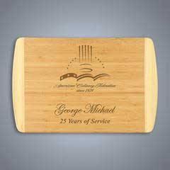 2-Tone Bamboo Cutting Board, Large