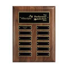 12-Plate Perpetual Plaque - Vertical