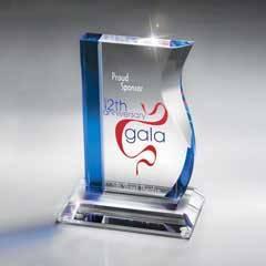 Blue and Optic Crystal Success Award
